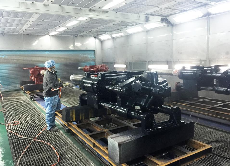 云南机械喷漆设备